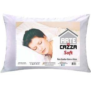 [Extra] Travesseiro Arte e Cazza Soft em Polipropileno 45 x 65 cm - Branco por R$ 10