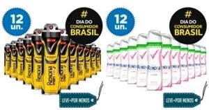 [Ricardo Eletro] 12 Desodorantes Aerosol Rexona - por R$98