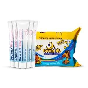 [Netfarma] Kit Bepantol Baby Creme Preventivo de assaduras - 5 unidades - por R$100