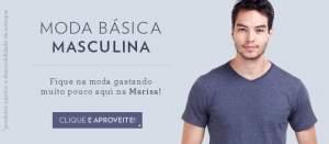 [Marisa] Camisetas Masculinas a partir de R$10
