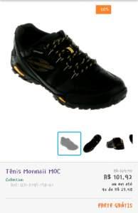 [Netshoes] Tênis Mormaii MOC - R$102