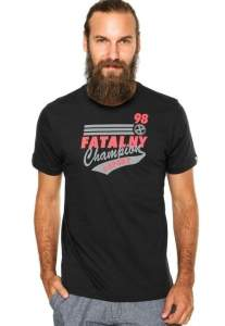 [Kanui] CAMISETA FATAL CHAMPIONS PRETA- R$40