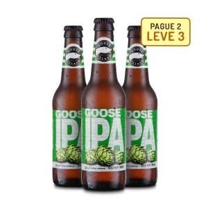 [Emporio da Cerveja]- Kit Goose Island IPA 355Ml - Na compra de 2, Leve 3- 30,00