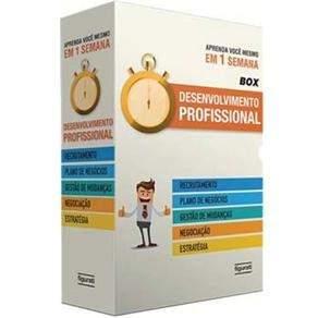 [Extra] Livro - Box - Desenvolvimento Profissional: Recrutamento, Plano de Negócios, Gestão de Mudanças, Negociação e Estratégia - 5 Volumes por R$ 17