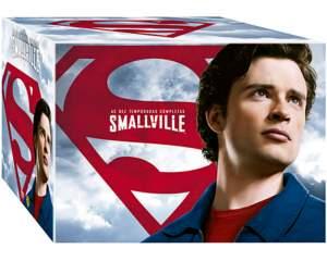 [Shoptime] DVD - Coleção Completa Smallville - As 10 Temporadas (60 Discos) - R$175