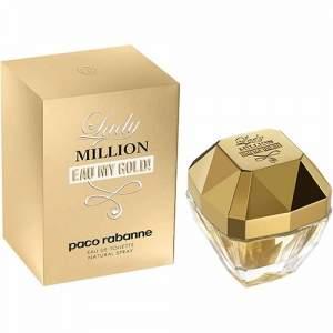 [Shoptime] Perfume Lady Million Eau My Gold! Paco Rabanne Feminino - 30ml - R$94
