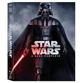[Ponto Frio] Blu-Ray - Star Wars A Saga Completa - 9 Discos - R$ 159,90