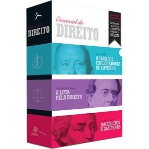[VOLTOU - Submarino] Box O Essencial do Direito (3 volumes) - R$8