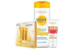 [PEIXE URBANO] Kit com Protetor Solar L'Óreal Oil Free FPS 30, Protetor Solar Facial L'Óreal e 3 Ampolas da Pantene. Frete incluso! - R$ 34,90 para São Paulo e R$ 49,90 para outras regiões.