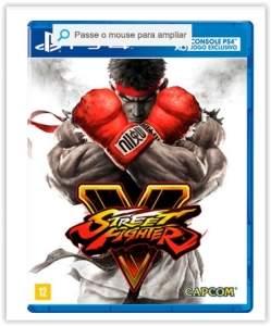 [Submarino] Game Street Fighter V BR - PS4 por R$ 150