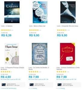 [SUBMARINO] Livros a partir de R$ 1,04 até R$ 9,90