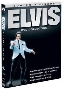 [SARAIVA] DVD Coleção Elvis DVD Collection - 4 Discos - R$ 19,90