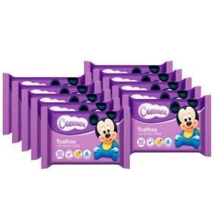 [Kangoolu] Combo Toalhas Umedecidas Cremer Disney Baby 500 unidades - por 54