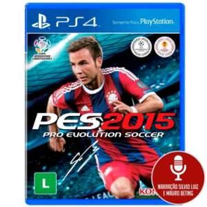 [Ricardo Eletro] Jogo Pro Evolution Soccer 2015 (PES 15) para Playstation 4 (PS4) - Konami
