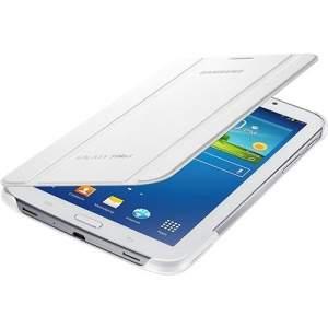 [Sou Barato] Capa Protetora para Galaxy Tab III 7 Samsung Dobrável com Suporte Branca - R$81
