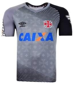 [FUTFANATICS] Camisa Umbro Vasco Treino Cinza - R$ 59,90
