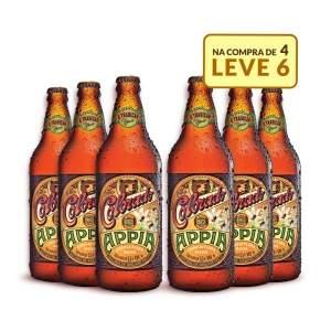 [Emporio da Cerveja] Kit Colorado Appia 600ML - Na Compra de 4, Leve 6 Garrafas por R$ 60