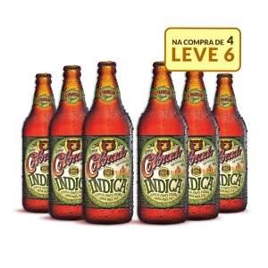 [Emporio da Cerveja] Kit Colorado Indica 600ML - Na Compra de 4, Leve 6 Garrafas por R$ 60