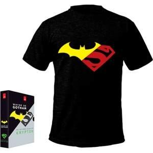 [Submarino] Box - Wayne de Gotham, Os Últimos Dias de Krypton + Camiseta - 9,95R$