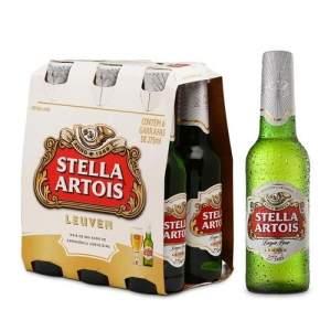 [EMPORIO DA CERVEJA] Kit Stella Artois 275ml - Na Compra de 2, Leve 3 Caixas - R$ 39,00