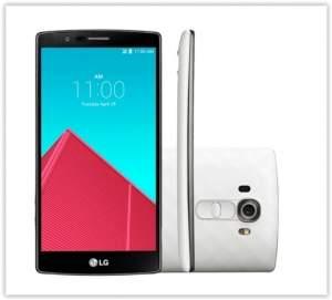 [Girafa] Smartphone LG G4 Dual H818 32GB Tela de 5,5 Dual Chip 4G Android 5.0 Câmera 16MP Branco por R$ 1494