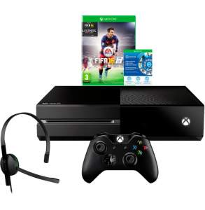 [SUBMARINO]  Console Xbox One 1TB + Game FIFA 16 (Via Download) + Headset com Fio + Controle Wireless -  R$ 1639,00 no BOLETO!!! Com o cupom PLAY10