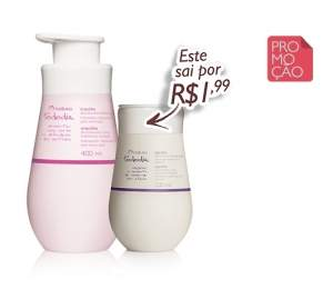 [Natura]   Kit Natura Tododia - Desodorante Hidratante Orquídea - 400ml + Desodorante Hidratante Algodão - 200ml R$ 42