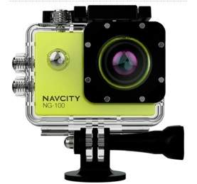 [SUBMARINO] Câmera Esportiva Navcity Verde 12MP Filmagem Full HD 30M à Prova d'água + Selfie Stick - R$ 177,39 NO BOLETO COM CUPOM MEGAOFF10