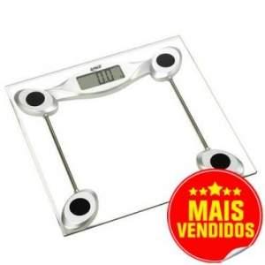 [CLUBE DO RICARDO] Balança Digital 200Kg G-Tech com Plataforma de Vidro Temperado - R$ 59,90