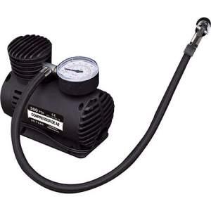 [SOU BARATO] Compressor de Ar Naveg com 3 Bicos Adaptadores - Preto - R$ 29,99