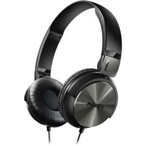 [Shoptime] Fone de Ouvido Philips SHL3160BK/00 Over Ear Preto - R$56