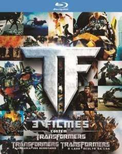 [Saraiva] Blu-ray Transformers - Trilogia - R$40