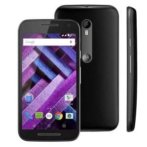 [CASAS BAHIA] Smartphone Moto G (3ª Geração) Turbo XT1556 Preto com 16GB, Tela de 5'', Dual Chip, Android 5.1, 4G, Câmera 13MP, Processador Octa-Core e RAM de 2GB - R$ 934,15 EM ATÉ 10 X PAGANDO COM PAYPAL