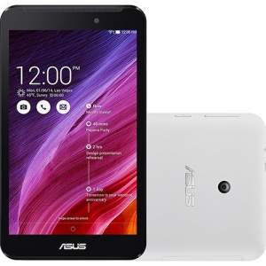 "[Sou Barato] Tablet Asus Fonepad 7 8GB Wi Fi 3G Tela 7"" Android 4.4 Processador Intel Atom Dual Core - Branco por R$ 485"