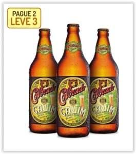 [Empório da Cerveja] Kit Colorado Cauim 600Ml - Na Compra de 2, Leve 3 por R$ 30