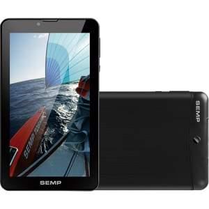 """[Americanas] Tablet Semp Toshiba TA0709GP 8GB 3G/Wi-Fi Tela 7"""" Android 4.4 Dual Core 1,3GHz - Preto - R$351"""