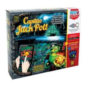 [RICARDOELETRO] Jogo Capitão Jack Pott - Grow - R$ 19,57