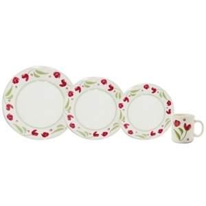 [Efácil] Aparelho de Jantar Cerâmica 16 Peças Biona Roseli - Oxford por R$ 85