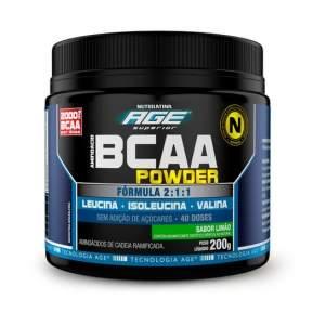 [Netshoes] BCAA POWDER AGE 200 G - NUTRILATINA por R$ 47
