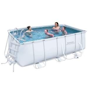 [Centauro] Piscina Retangular Estruturada Bestway Frame Pool 8.124 Litros por R$1.645