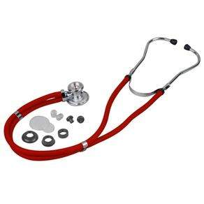 [Extra] Estetoscópio Glicomed Rappaport Premium - Vermelho por R$ 20