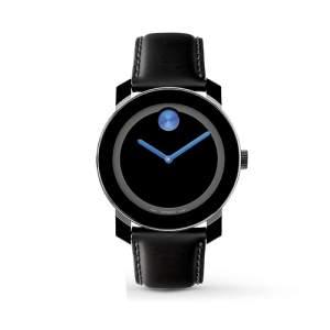 [Vivara] Relógio Movado Masculino Couro Preto - 3600015 por R$ 475