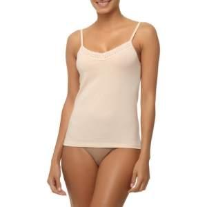 [Americanas] Camisete Hanes Detalhe Renda - Nude por R$ 10