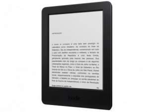 """[Clube da Lu] Kindle 7ª Geração Wi-Fi 4GB Tela 6"""" - Mais de 2.000 Livros - Amazon por R$ 199"""
