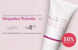 [Natura] Desodorante e Antitranspirante orquídea - R$8,95