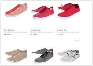 [Dafiti] Tenis Coca Cola Shoes a partir de R$ 79