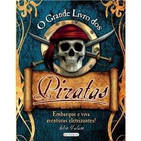 [Ponto Frio] Livro - O Grande Livro dos Piratas por R$ 22