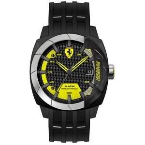 [Vivara] Relógio Ferrari Masculino Silicone Preto - 830204 - FR00000098 por R$ 245