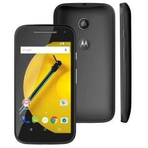 """[Casas Bahia] Smartphone Moto E™ (2ª Geração) Preto com 8GB, Dual Chip, Câmera 5MP, Tela de 4.5"""", Android 5.0 e Processador Quad-Core de 1.2GHz - R$401"""