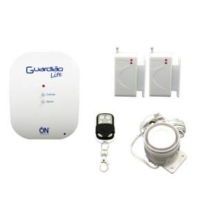 [Walmart] Kit Alarme Residencial Sem Fio ON Eletrônicos Guardião Lite KGL01 por R$ 140